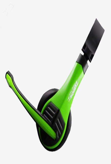 Zebronics Bolt On The Ear Headphones (Green)