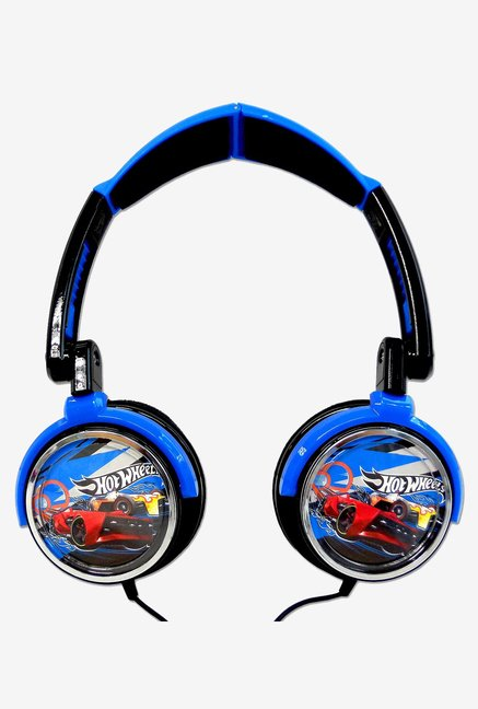 Hot Wheels ZVHW-1500_HotWheels On The Ear Headphones (Blue)