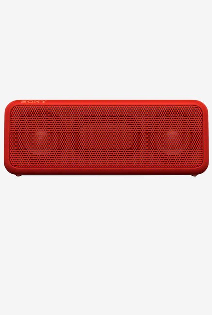 Sony SRS-XB3 Extra Bass Portable Wireless Speaker (Red)