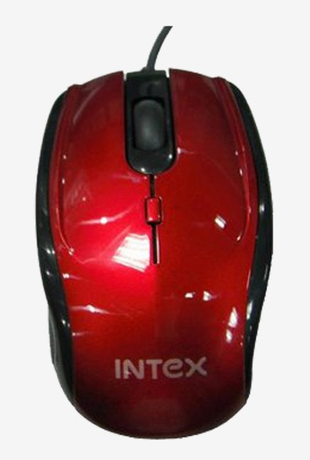 Intex Optical MAX RB USB Mouse (Red)