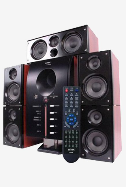 Intex IT-4850+ SUF 5.1 Multimedia Speaker System (Black)