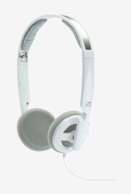 Sennheiser PX 100-II Foldable On-Ear Headphone (White)