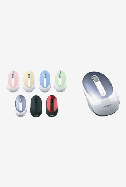 Intex Optical Wireless Mouse (White)