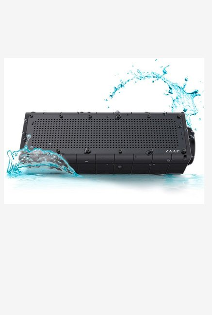 ZAAP AQUA PRO IP66 Bluetooth Wireless Speaker (Black)