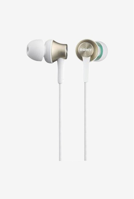 Sony MDREX450N In the Ear Headphones (Pearl Gold)
