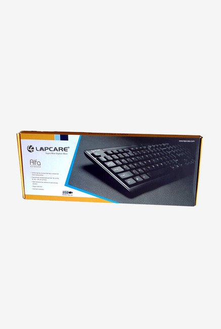 Lapcare Alfa WS-KB-8133 USB Keyboard (Black)