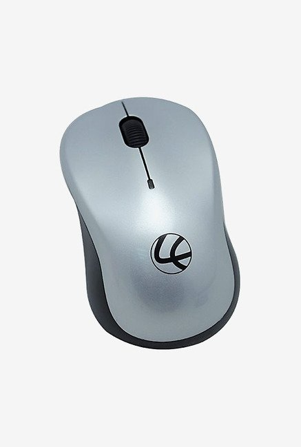 Lapcare WL 300 1000 DPI Wireless Optical Mouse (Silver)