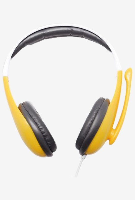 Enter Headphone With Microphone EH-PP11 (Yellow)