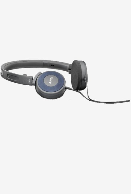 AKG K 420 Foldable Mini On-Ear Headphone (Blue)