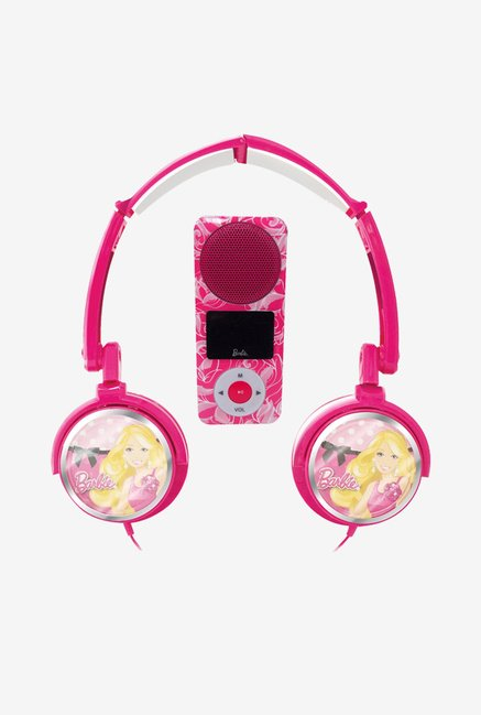 Barbie ZVBR-1500 On-Ear Headphones (Pink)