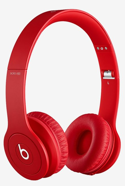 Beats Solo HD On-Ear Headphone (Drenched in Red)