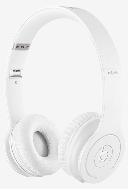 Beats Solo HD On-Ear Headphone (Drenched in White)