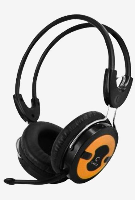 Circle Concerto 202 Multimedia Headphone (Orange)