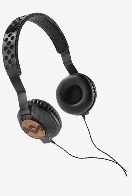 House of Marley EM-JH073-MI On the Ear Headphone (Midnight)