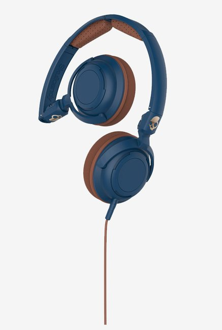 Skullcandy S5LWGY-413 Lowrider On the Ear Headphone (Navy)