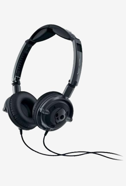 Skullcandy S5LWFY-223 On the Ear Headphone (Black)
