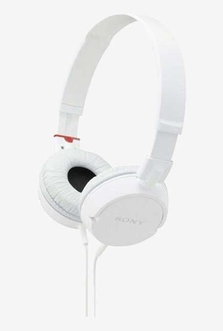 Sony MDR-ZX-100A Headphone (White)
