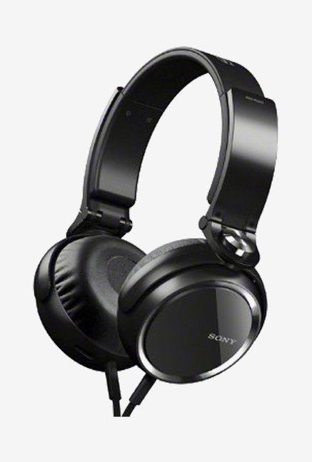 Sony MDR-XB600 Extra-Bass Stereo Headphones (Black)