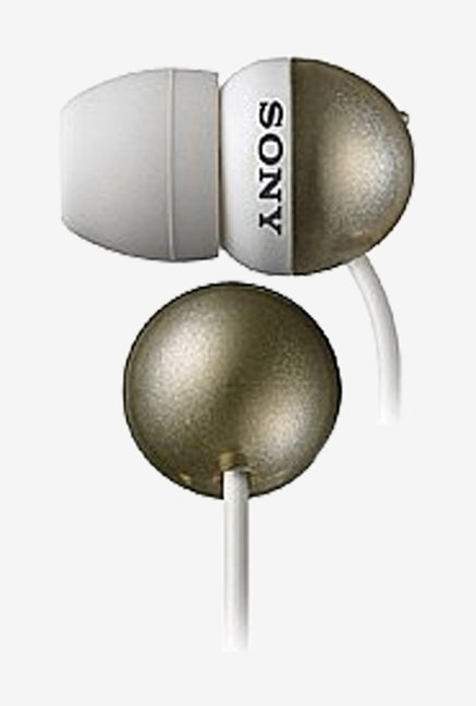 Sony MDR-EX33LP Sweet Little Buds Stereo Headphones (Gold)
