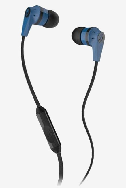 Skullcandy S2IKDY-101 Headphone (Blue/Black)