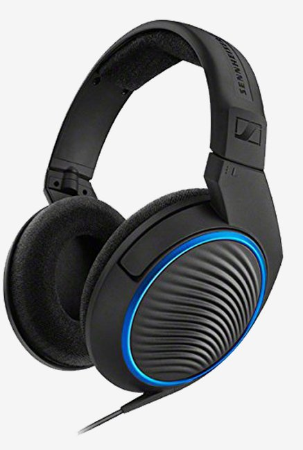 Intex Standard On the Ear Headphone with Mic (Black)