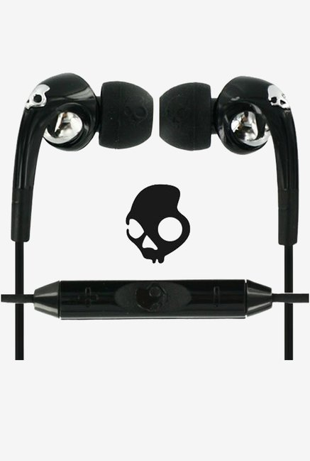Skullcandy S2FXFM-008 Fix In the Ear Headphone with Mic (Black)