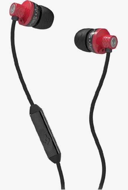 Skullcandy S2TTDY-206 Titan Headphone with Mic (Red/Black)