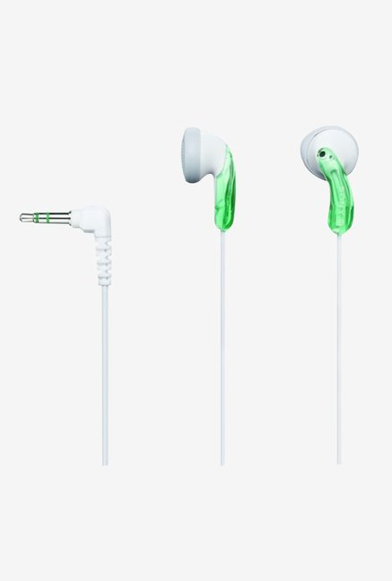Sony MDR-E10LP/PGRN Fashion Earbuds Headphones (Green)