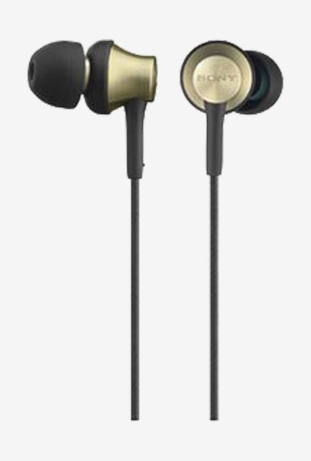Sony MDR-EX650 T In the Ear Headphones (Brass Brown)
