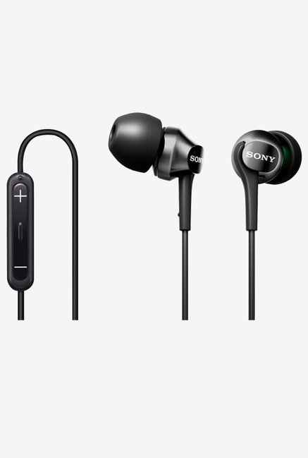 Sony Premium In the Ear Headphones (Black)