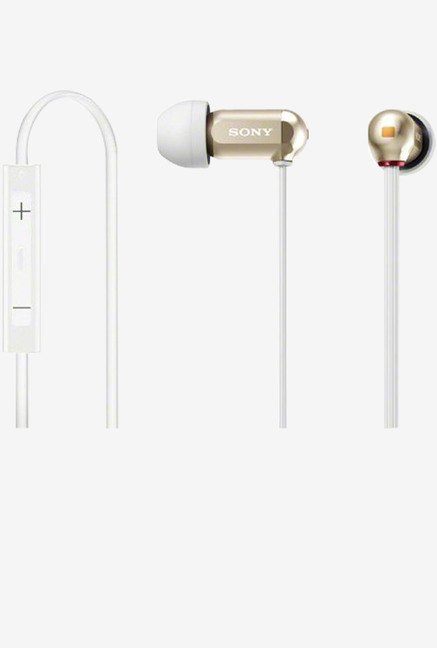 Sony XBA-10IP/N In the Ear Headphones (Gold)