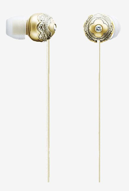 Sony MDR-EX140LP/N Sealed Headphones (Freesia Gold)
