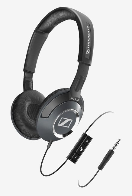 Sennheiser HD 218i Supra Aural Headphone (Black)