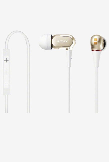 Sony XBA-20IP/N In the Ear Headphone Japanese Import (Gold)