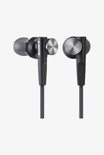 Sony In-Ear Dynamic Headphones MDR-XB50-B (Black)
