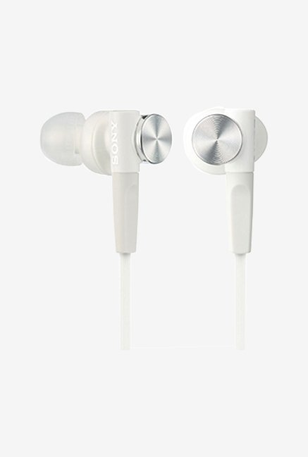 Sony In-Ear Dynamic Headphones MDR-XB50-W (White)