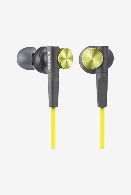 Sony In-Ear Dynamic Headphones MDR-XB50-Y (Yellow)