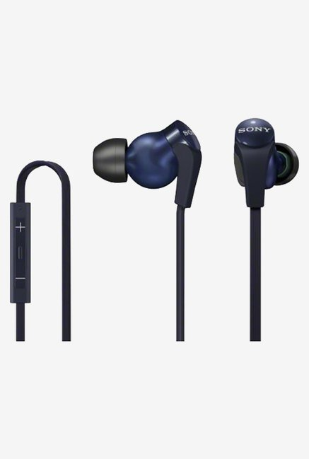Sony DR-XB31IP-L In-Ear Headphones Japanese Import (Blue)