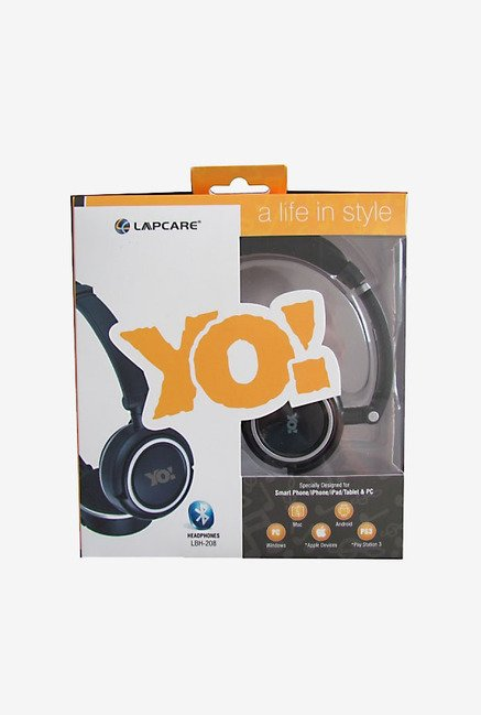Lapcare LBH 208 Bluetooth Headset (Orange)