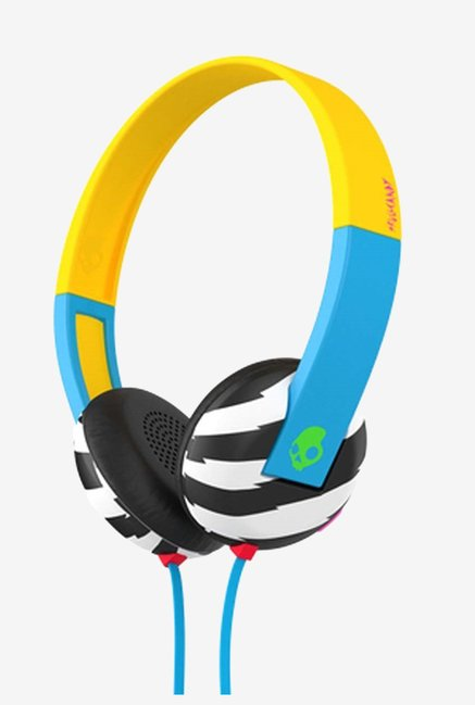 Skullcandy Uproar SCS5URHT-493 Headphones  (Blue)