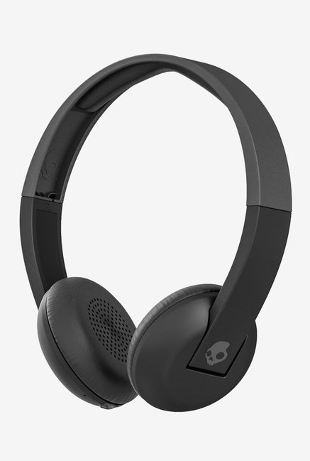 Skullcandy S5URHW-509 On The Ear Headphones (Black)