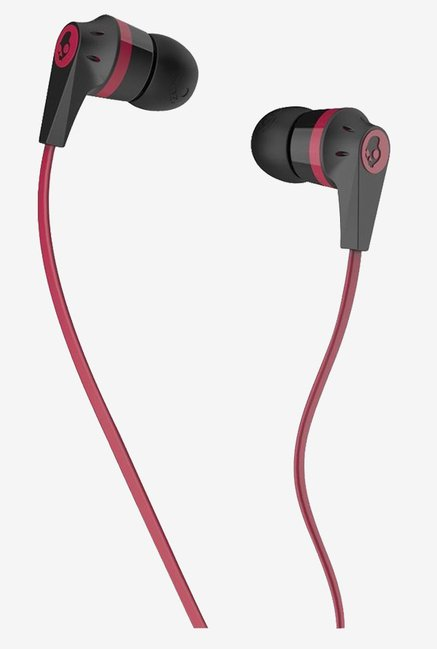 Skullcandy S2IKDZ-010 Headphone (Black/Red)