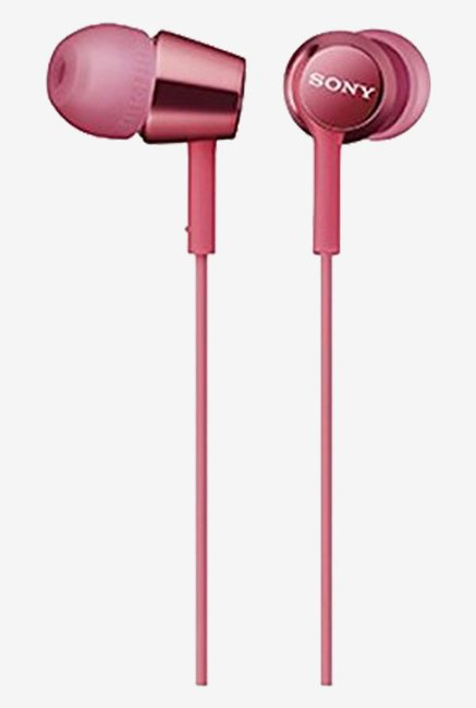Sony MDREX15APPI.CE7 In-Ear,Smartphone Mic and Control (Pink)