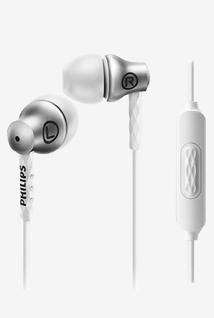 Philips SHE8105SL/27 In the Ear Headphones (Silver)