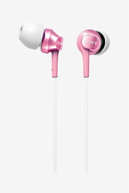Sony MDR-EX60LP(P) In the Ear Headphones (Pink)