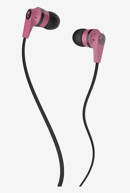 Skullcandy S2IKDY-133 with Mic (Pink & Black)
