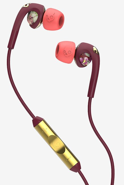 Skullcandy S2FXGM-432  Gold Earphone with Mic