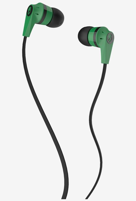 Skullcandy S2IKDZ-102 In the Ear Headphone (Green/Black)