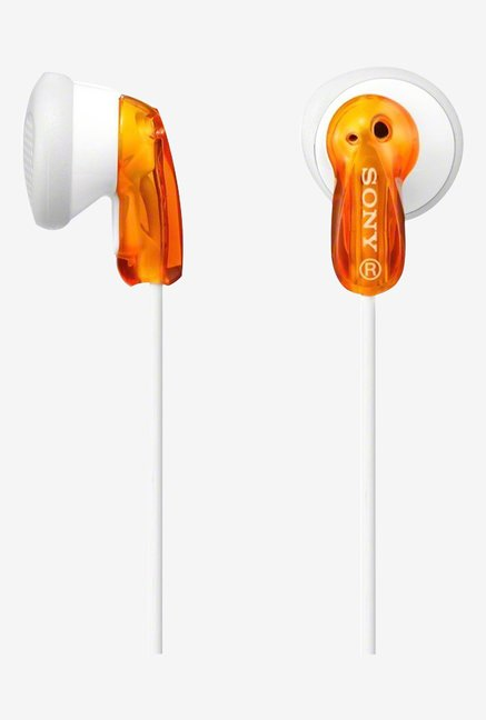 Sony MDR-E9LPD AE In the Ear Headphones (Orange)