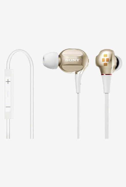 Sony XBA-40IP/N In the Ear Headphone (Gold)